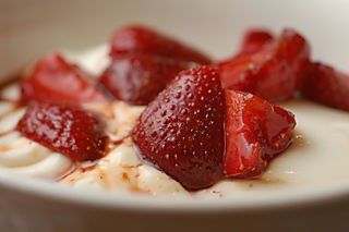 Balsamic strawberries 6