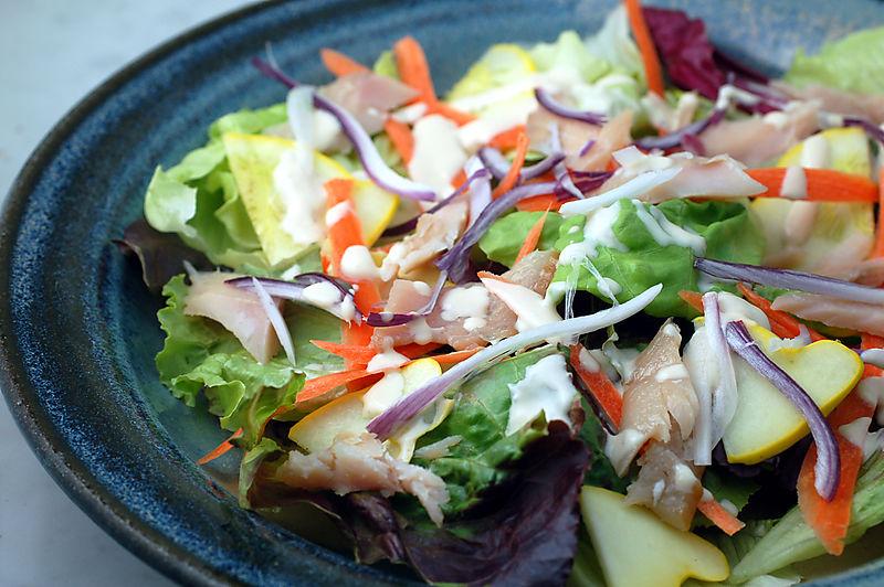 Yellow squash salad 2