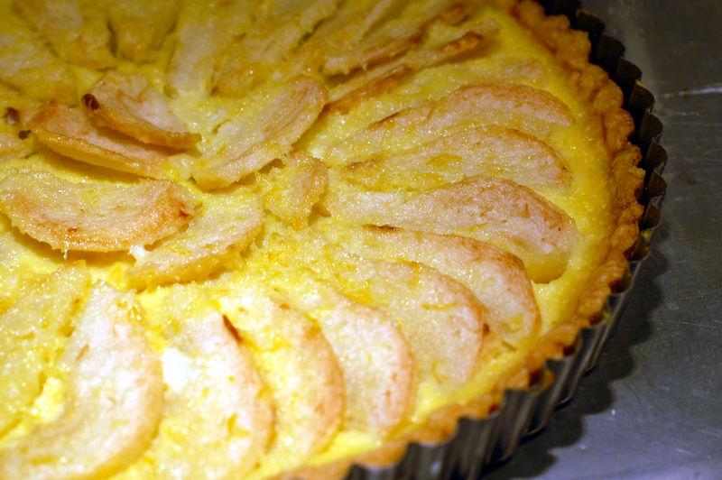 Lemon ginger pear tart 3
