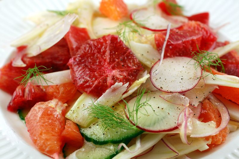 Fennel, Blood Orange, And Avocado Salad Recipes — Dishmaps