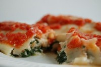 Cannelloni with Swiss Chard and Ricotta