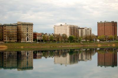April_15_reflection_druid_hill_lake