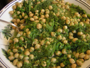 Rapini_and_chick_peas_3