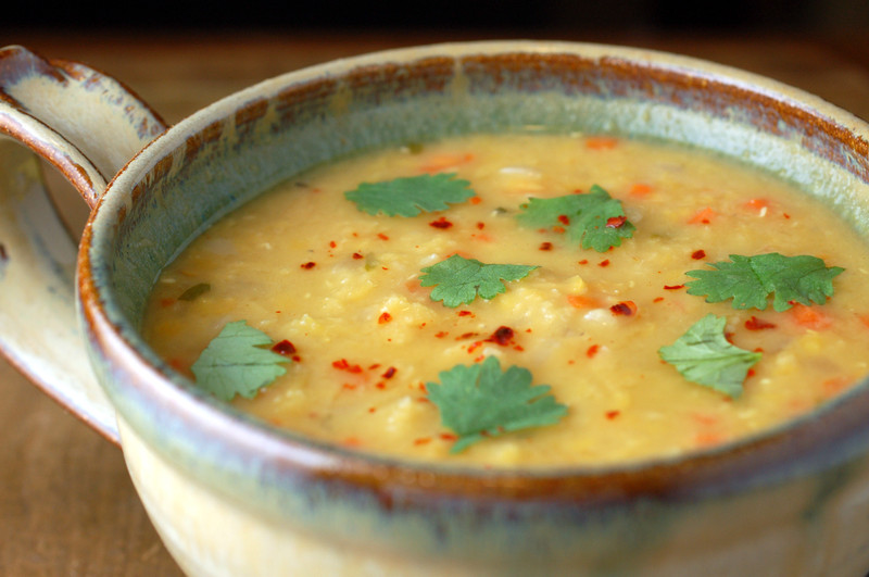 Kitchenography: Red Lentil Soup