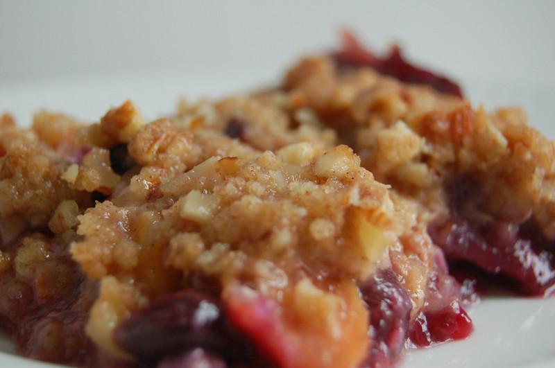 Peach Crisp is a bit heavy dish that contains over 602 calories. We ...