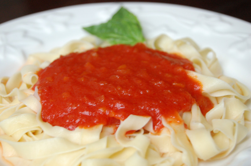 Kitchenography: Lidia Bastianich's Simple Tomato Sauce