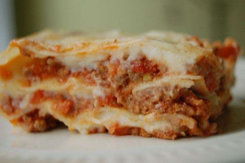 Kitchenography: Lasagna (or is it Lasagne?) and Béchamel Sauce
